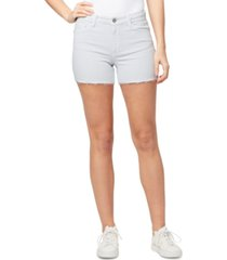 william rast cutoff braided-waist shorts