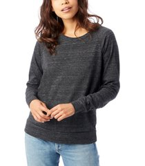 alternative apparel slouchy eco-jersey women's pullover top