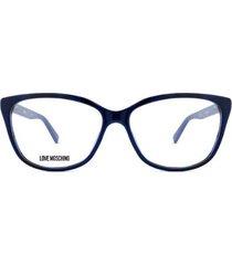 óculos de grau love moschino feminino