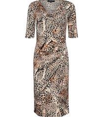 dress knälång klänning multi/mönstrad ilse jacobsen