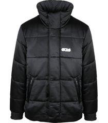 gcds satin square down jacket