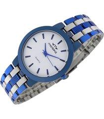 reloj azul montreal slim