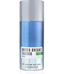 desodorante benetton united dreams together him masculino 150ml único