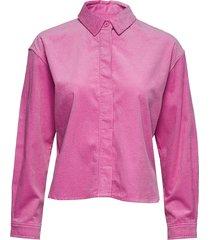 kelly overshirt 11153 overhemd met lange mouwen roze samsøe samsøe