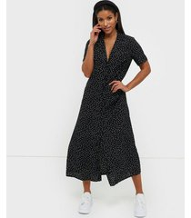 missguided button through midi shirt dress loose fit dresses
