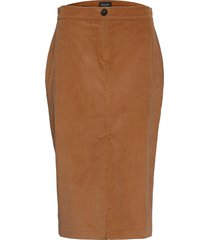 3394 - aidith knälång kjol orange sand