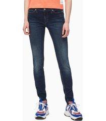 jeans skinny varen azul calvin klein