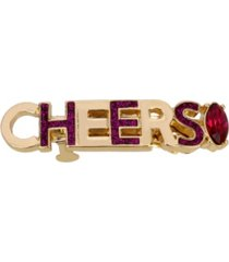betsey johnson cheers hair clip