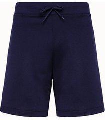 a.p.c. shorts in poliestere blu