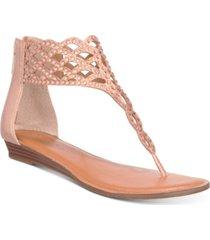 thalia sodi ilene glitzy thong flat sandals, created for macy's women's shoes