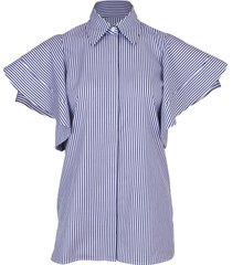 peplum sleeve shirt