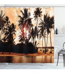ambesonne beach shower curtain bedding