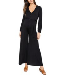 rachel pally maternity wide-leg jumpsuit