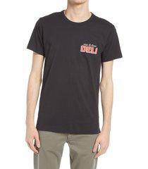 men's rag & bone bodega graphic tee, size x-small - black (nordstrom exclusive)
