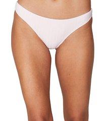 spiritual gangster women's sundara bikini bottom - ballerina - size m