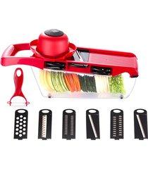 cortadora de verduras multi-funcional rallador rebanador de vegetales útiles de cocina