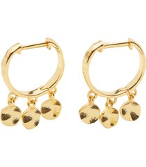 women's gorjana chloe mini disc huggie hoop earrings