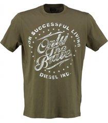 diesel armygroen t-shirt