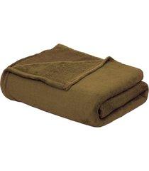 cobertor beb㊠90cm x 1,10m marrom - multicolorido - dafiti