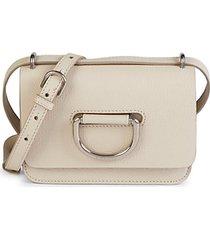 d-ring leather crossbody bag
