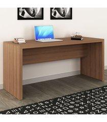 mesa para escritório amendoa me4109 - tecno mobili