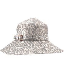 women's eric javits 'kaya' hat - brown