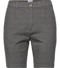 hector orleans check shorts shorts chinos shorts grå kronstadt