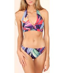 bikini admas 2-delige set halterbikini malibu multicolor adma's