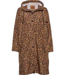 animal magpie raincoat outerwear rainwear rain coats brun becksöndergaard