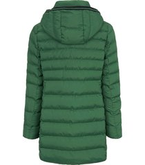 gewatteerde jas van fuchs & schmitt groen