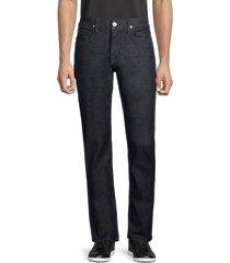 hudson men's byron slim straight jeans - black - size 34