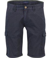 portofino worker bermuda stretch donkerblauw