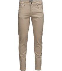 jay solid stretch slim jeans beige j. lindeberg