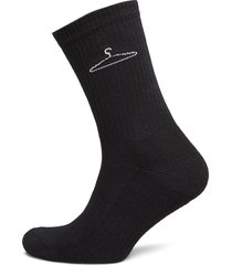 hanger sock underwear socks regular socks svart holzweiler
