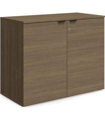armário baixo 2 portas carvalho munique móveis kappesberg