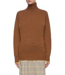 turtleneck cashmere sweater