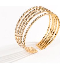 addilyn multi band cuff - gold