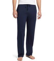 men's polo ralph lauren pajama pants, size small - blue