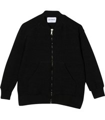 dondup black bomber jacket