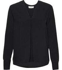 kasia blouse lange mouwen zwart tiger of sweden