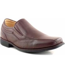 zapato marrón briganti anatomic clásico hccz01091