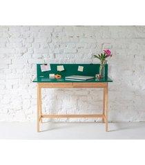 biurko jesionowe luka 110x50cm z szufladą