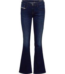 d-ebbey jeans wijde pijpen blauw diesel women