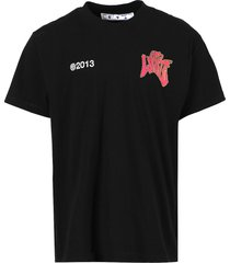 psych type t-shirt, black and red