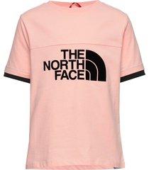 g rafiki s/s tee t-shirts short-sleeved rosa the north face
