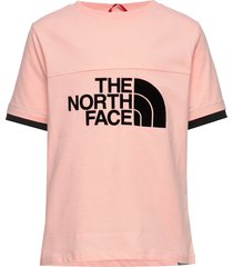g rafiki s/s tee t-shirts short-sleeved rosa the north face