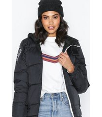 d brand eskimå down jacket dunjackor svart