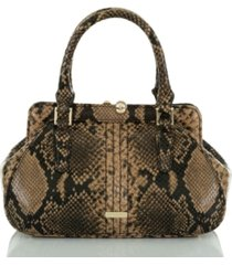 brahmin coffee felix mini layla satchel