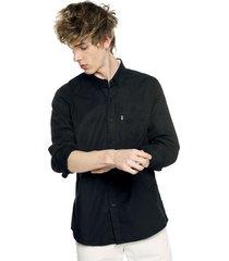 camisa negro levis