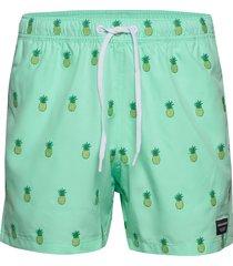 swim shorts santiago santiago badshorts grön björn borg